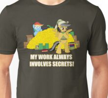 Her Work Involves SECRETS Unisex T-Shirt