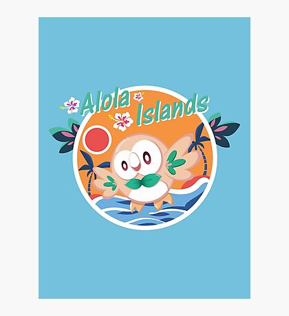 Alola Islands Photographic Print