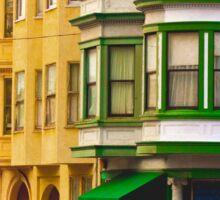 San Francisco Architecture Sticker