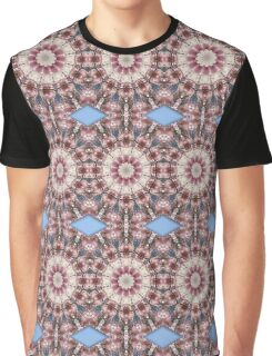 Spring blossoms, Floral mandala-style Graphic T-Shirt