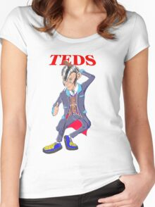TEDS Women's Fitted Scoop T-Shirt