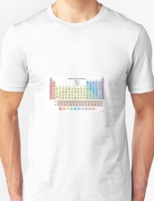 Periodic Table of Elements Unisex T-Shirt