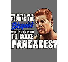 "Abraham's ""Pouring the Bisquick"" Quote Photographic Print"