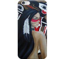 Raven Goddess iPhone Case/Skin