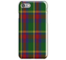 01434 Creek Indian Nation District Tartan iPhone Case/Skin