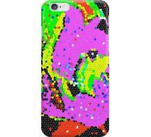 Angel Fish Purple Mosaic iPhone Case/Skin