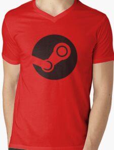 Gaming :: Steam :: Logo Mens V-Neck T-Shirt