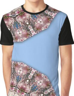 Spring blossoms, Nature Flower Mandala 006.6 Graphic T-Shirt