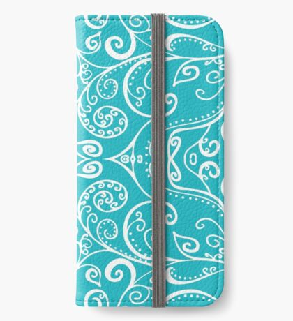 Silent Era, Turquoise iPhone Wallet