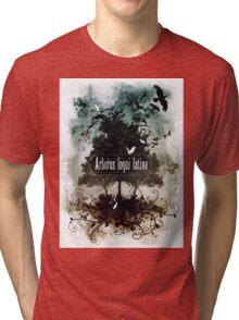 Arbores loqui latine Tri-blend T-Shirt