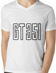 GT 351 Design Mens V-Neck T-Shirt