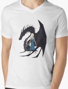 Game of Thrones :: Daenerys :: Dragon Mens V-Neck T-Shirt