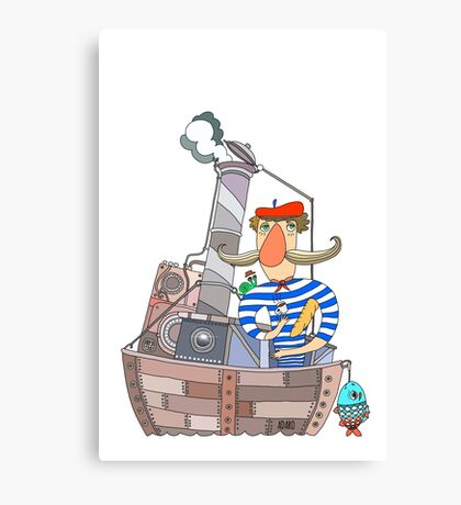 The French Sailor Canvas Print