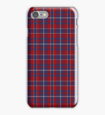 01425 Coronation Commemorative Tartan  iPhone Case/Skin