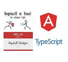 AngularJS Bundle Photographic Print