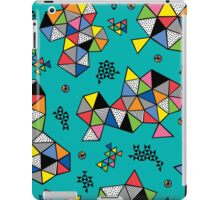 Edgewise turq iPad Case/Skin