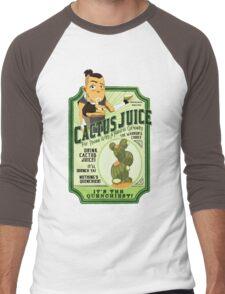 Drink Cactus Juice Men's Baseball ¾ T-Shirt