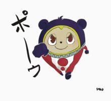 クマ (Teddie) One Piece - Long Sleeve