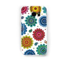 Flowers of Desire white Samsung Galaxy Case/Skin