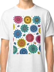 Flowers of Desire white Classic T-Shirt