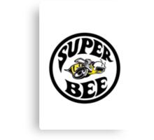 Super Bee Design Canvas Print