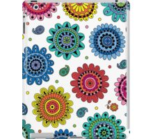 Flowers of Desire white iPad Case/Skin