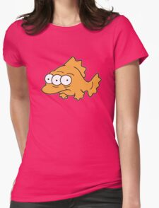Toxic Fish Womens Fitted T-Shirt