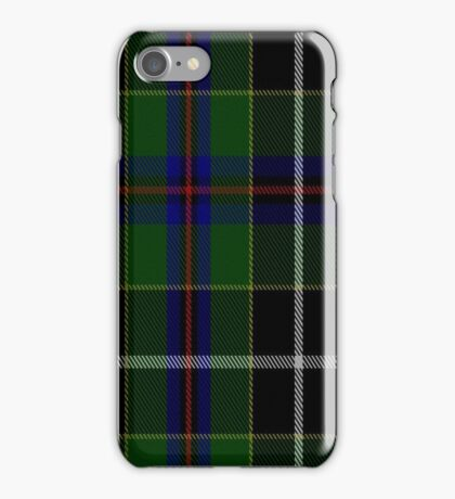 01422 Cornish Hunting District Tartan iPhone Case/Skin