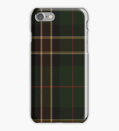 01421 Cornish Countryside District Tartan  iPhone Case/Skin