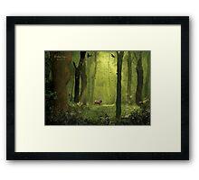 Woodland Surprise Framed Print