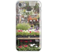 Farm and Flower Market Greenhouse iPhone Case/Skin