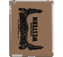 Double Action Western iPad Case/Skin