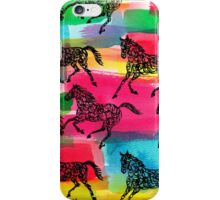 Horse Stampede iPhone Case/Skin
