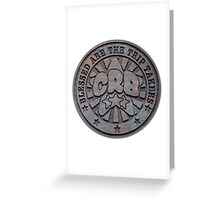 Cosmic Reality Brokers (In Stone) Greeting Card