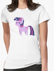 Purple Smart Womens Fitted T-Shirt