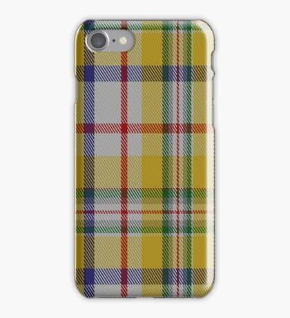 01418 Contrecoeur Dress District Tartan  iPhone Case/Skin