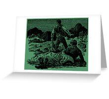 Treasure of the Mala Tierra Greeting Card