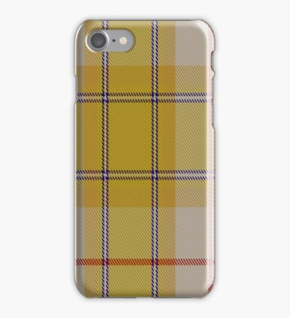 01415 Comrie Gold Fashion Tartan iPhone Case/Skin