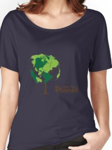 T-shirt Save the Planet  Women's Relaxed Fit T-Shirt
