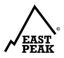 East Peak Apparel - Large logo Print by springwoodbooks