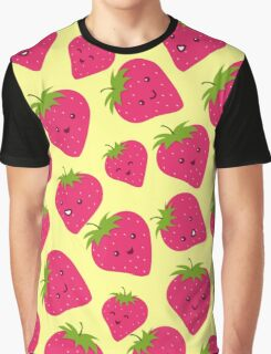 Strawberries Fun Forever! Graphic T-Shirt
