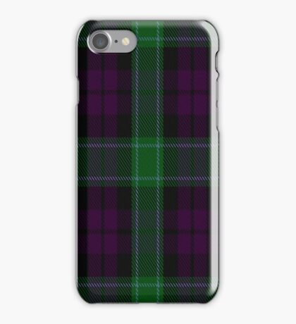 01411 Coburg Fashion Tartan  iPhone Case/Skin