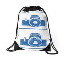 Cynotype Camera Drawstring Bag