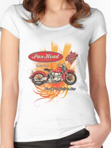Panhead Motorcycle Design Women's Fitted Scoop T-Shirt