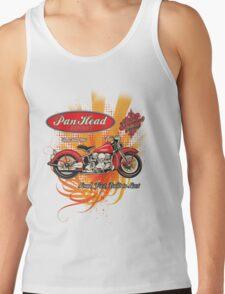 Panhead Motorcycle Design Tank Top