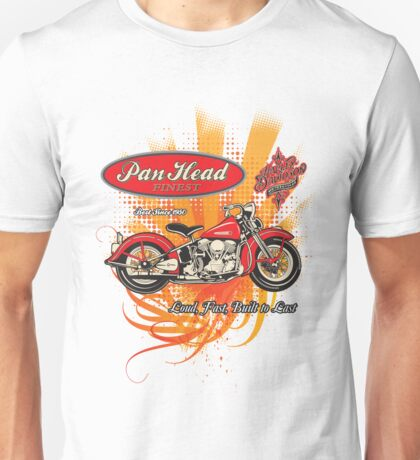 Panhead Motorcycle Design Unisex T-Shirt