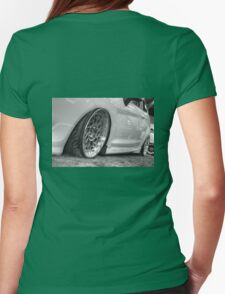 Alloy Wheels in HDR Womens Fitted T-Shirt