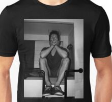 sitting in my own sadness Unisex T-Shirt
