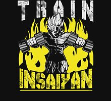 TRAIN INSAIYAN - Goku Lifting Dumbbells Unisex T-Shirt