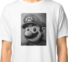 Portrait of an Italian Plumber Classic T-Shirt